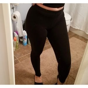 Charlotte russe black leggings